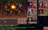 Eye of the Beholder III: Assault on Myth Drannor DOS The fireball spell is good against multiple targets.