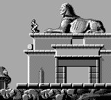Dragon's Lair: The Legend Game Boy On the Egyptians tomb