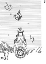 60th Anniversary of Stanislaw Lem's First Publication Browser Press the button to launch the robot. Time it right so he lands on the floating cube.