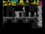 Ninja Commando ZX Spectrum Wait to jump