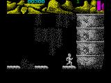 Ninja Commando ZX Spectrum Strange enemies