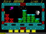 NorthStar ZX Spectrum Jumping half-ball are quite annoying enemies