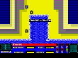 Panzadrome ZX Spectrum Game Over