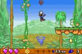Klonoa 2: Dream Champ Tournament Game Boy Advance Use a strong wind to high jump