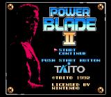 Power Blade II NES Title