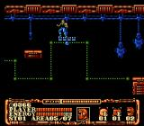 Power Blade 2 NES Nova on a moving platform