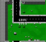 Death Race NES Game Over