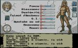 The Final Battle Atari ST After freeing Jerub the cleric, we can see his stats