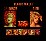 Strip Fighter II TurboGrafx-16 Medusa vs Mina