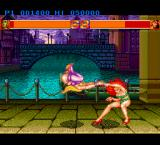 Strip Fighter II TurboGrafx-16 Reverse punch