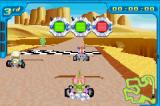 Digimon Racing Game Boy Advance Desert track