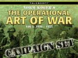 Norm Koger's the Operational Art of War Vol 1: 1939-1955 - Battle Pack I Scenario Add-on Disk Windows Start screen
