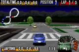 GT Advance Championship Racing Game Boy Advance Night race