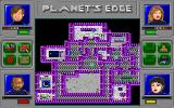 Planet's Edge: The Point of no Return DOS A very handy automap feature