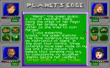 Planet's Edge: The Point of no Return DOS The dialogues are for the most part well-written and often humorous
