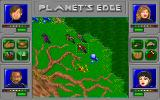 Planet's Edge: The Point of no Return DOS Planet Subra II - a strange world with huge trees. It feels overly organic, somehow...