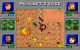 Planet's Edge: The Point of no Return DOS A battle on Denebola IV - those big worms can cast fire on us!