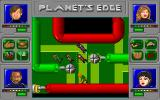 Planet's Edge: The Point of no Return DOS ...miniaturization and travel inside a computer system!