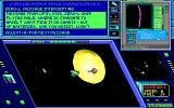 Hard Nova DOS Ship battle near a sun! There is no time to read messages, Captain!..