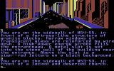 Fahrenheit 451 Commodore 64 Exploring the city