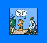 "Garfield: Caught in the Act Game Gear ""Repaired"" TV"