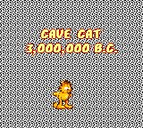 Garfield: Caught in the Act Game Gear 3.000.000 BC