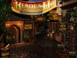 Heroes of Might and Magic II: The Succession Wars DOS Title Screen