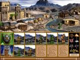 Heroes of Might and Magic II: The Succession Wars DOS Barbarian Castle