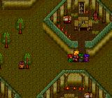 Alshark TurboGrafx CD The mysterious Myuntos dwell on the planet Stea in tiny villages hidden within huge forests