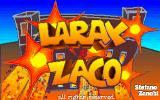 Larax & Zaco DOS Title screen