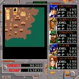 Alshark Sharp X68000 Shoko's map-viewing ability is very useful