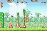 Super Mario Advance Game Boy Advance Peach is good character - no damsel in distress like in other game