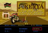 Road Rash 3 Genesis Select a racing track. There are five stages in total, with five tracks each.