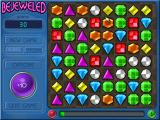 Bejeweled Deluxe Windows Learning how to drag the colored gems with a mouse.