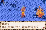 Dokapon: Monster Hunter Game Boy Advance Boss block road