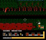 Operation Wolf NES At the end of Mission 2, the enemy General will confront you while holding a young girl hostage. Attack the General while avoiding shooting the girl in order to avoid taking more damage.