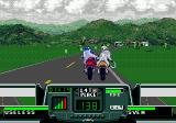 Road Rash 3 Genesis Heavy fighting, but you won't come far without a real weapon.