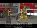 American McGee presents Bad Day LA Windows Dialogue with firemen