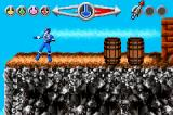 Saban's Power Rangers: Time Force Game Boy Advance Wild west level