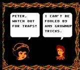 Fox's Peter Pan & The Pirates: The Revenge of Captain Hook NES Wendy's dialogue