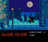Felix the Cat NES Game Over