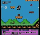Felix the Cat NES Special platform to higher jump