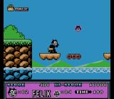 Felix the Cat NES Water part of level