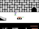 Quest for Quintana Roo ColecoVision Exploring the temple
