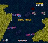 Formation Armed F TurboGrafx-16 Game Over