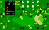 Chip Shot: Super Pro Golf Intellivision Title screen