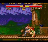 Super Street Fighter II Genesis Claw's attack is missing