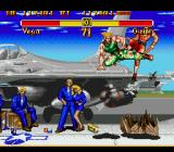 Super Street Fighter II Genesis Flying kick