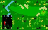 Chip Shot: Super Pro Golf Intellivision Teeing off