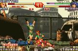 The King of Fighters EX2: Howling Blood Game Boy Advance Last duel - punch in stomach